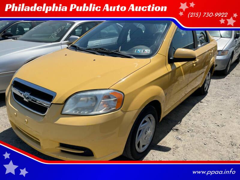 2009 Chevrolet Aveo for sale at Philadelphia Public Auto Auction in Philadelphia PA