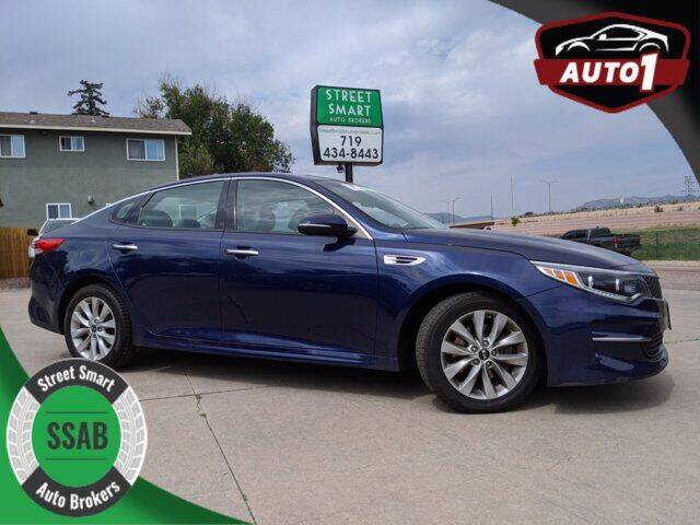 2016 Kia Optima for sale at Street Smart Auto Brokers in Colorado Springs CO