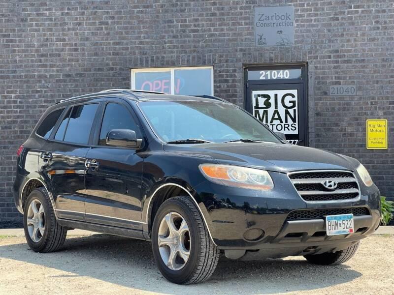 2007 Hyundai Santa Fe for sale at Big Man Motors in Farmington MN