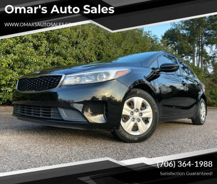 2017 Kia Forte for sale at Omar's Auto Sales in Martinez GA