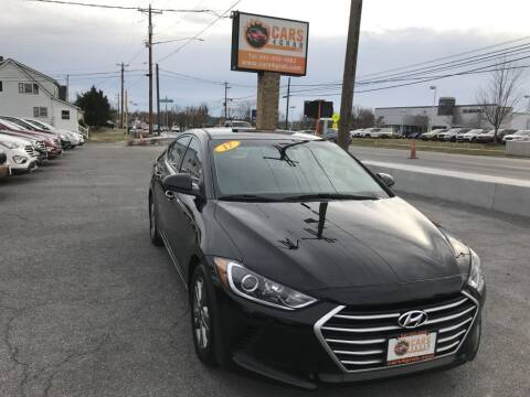 2017 Hyundai Elantra for sale at Cars 4 Grab in Winchester VA