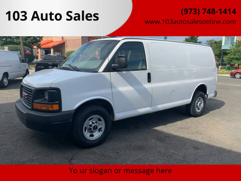 2011 GMC Savana Cargo for sale at 103 Auto Sales in Bloomfield NJ