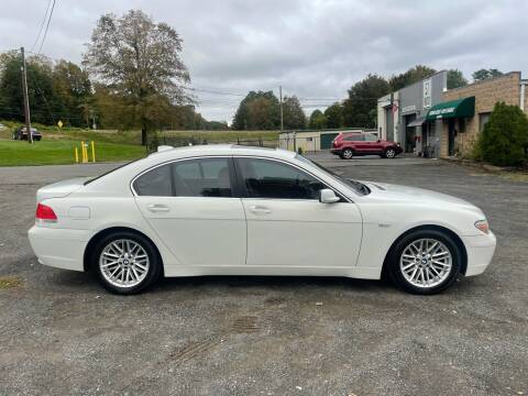 2005 BMW 7 Series for sale at 57 AUTO in Feeding Hills MA