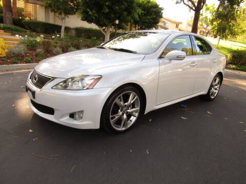 2009 Lexus IS 250 for sale at E MOTORCARS in Fullerton CA