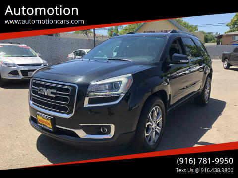 2013 GMC Acadia for sale at Automotion in Roseville CA