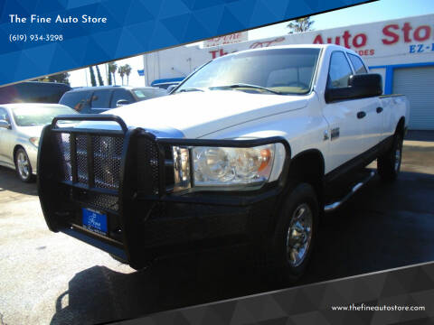 2007 Dodge Ram Pickup 3500 for sale at The Fine Auto Store in Imperial Beach CA
