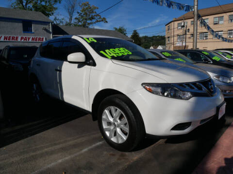 2014 Nissan Murano for sale at M & R Auto Sales INC. in North Plainfield NJ