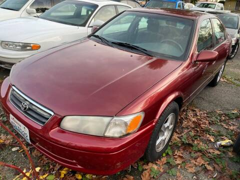 2001 Toyota Camry for sale at SNS AUTO SALES in Seattle WA