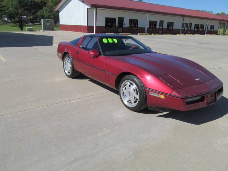 1989 Chevrolet Corvette for sale at New Horizons Auto Center in Council Bluffs IA