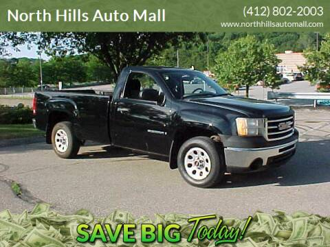 2009 GMC Sierra 1500 for sale at North Hills Auto Mall in Pittsburgh PA