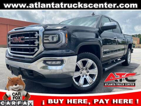 2018 GMC Sierra 1500 for sale at ATLANTA TRUCK CENTER LLC in Brookhaven GA