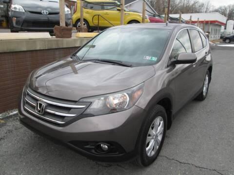 2013 Honda CR-V for sale at WORKMAN AUTO INC in Pleasant Gap PA
