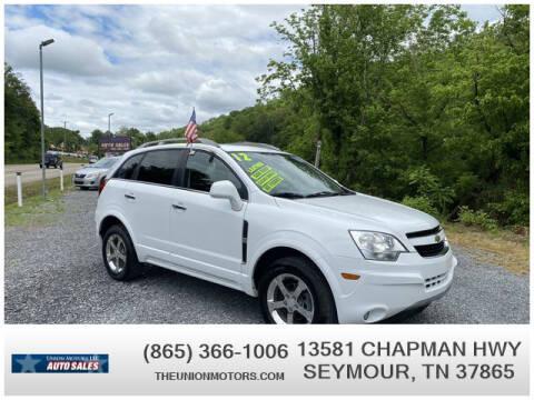 2012 Chevrolet Captiva Sport for sale at Union Motors in Seymour TN