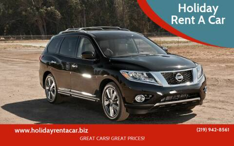 2016 Nissan Pathfinder for sale at Holiday Rent A Car in Hobart IN