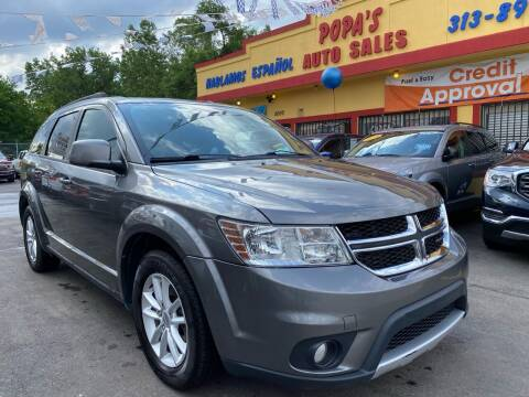 2013 Dodge Journey for sale at Popas Auto Sales in Detroit MI