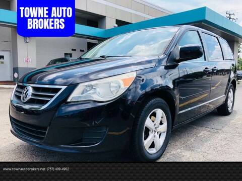 2010 Volkswagen Routan for sale at TOWNE AUTO BROKERS in Virginia Beach VA