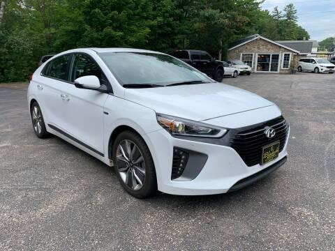 2018 Hyundai Ioniq Hybrid for sale at Bladecki Auto LLC in Belmont NH