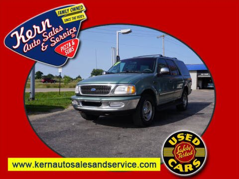 1997 Ford Expedition for sale at Kern Auto Sales & Service LLC in Chelsea MI