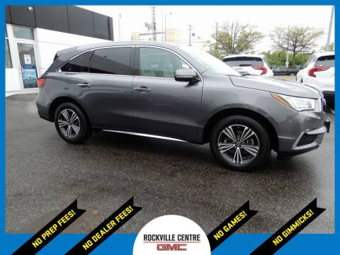 2018 Acura MDX for sale at Rockville Centre GMC in Rockville Centre NY