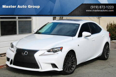 2014 Lexus IS 350 for sale at Master Auto Group in Raleigh NC