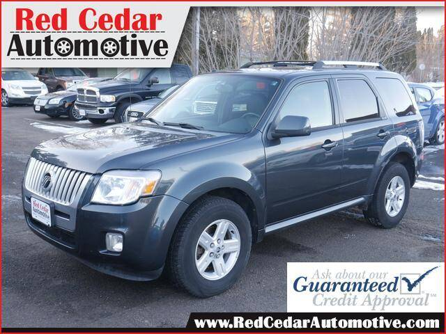 2010 Mercury Mariner for sale at Red Cedar Automotive in Menomonie WI
