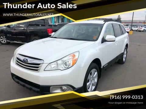 2011 Subaru Outback for sale at Thunder Auto Sales in Sacramento CA