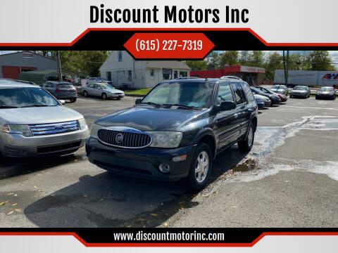 2006 Buick Rainier for sale at Discount Motors Inc in Nashville TN