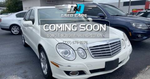 2009 Mercedes-Benz E-Class for sale at D & D Used Cars in New Port Richey FL