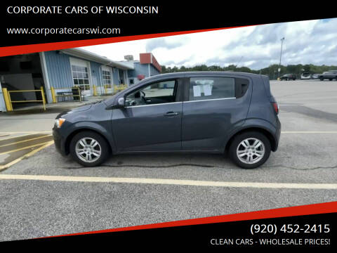 2012 Chevrolet Sonic for sale at CORPORATE CARS OF WISCONSIN - DAVES AUTO SALES OF SHEBOYGAN in Sheboygan WI