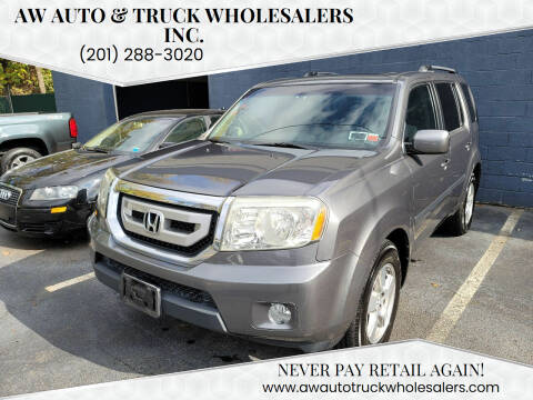 2011 Honda Pilot for sale at AW Auto & Truck Wholesalers  Inc. in Hasbrouck Heights NJ