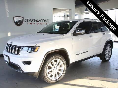 2017 Jeep Grand Cherokee for sale at Coast to Coast Imports in Fishers IN