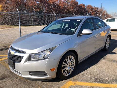 2012 Chevrolet Cruze for sale at GW MOTORS in Newark NJ