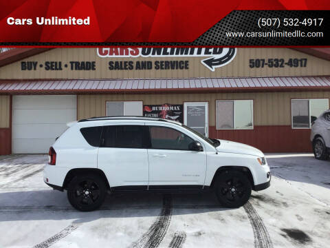 2016 Jeep Compass for sale at Cars Unlimited in Marshall MN