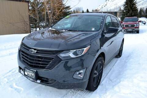 2020 Chevrolet Equinox for sale at Jackson Hole Ford of Alpine in Alpine WY