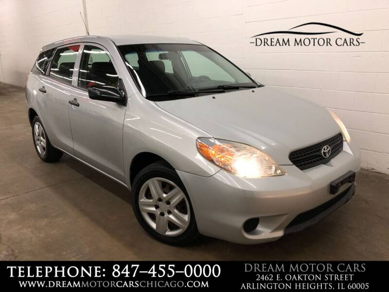 2006 Toyota Matrix for sale at Dream Motor Cars in Arlington Heights IL