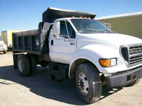 2000 Ford F-750 for sale at HAMPTON TRUCK SALES COMPANY in Idaho Falls ID
