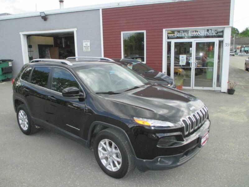 2018 Jeep Cherokee for sale at Percy Bailey Auto Sales Inc in Gardiner ME