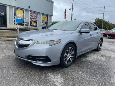 2016 Acura TLX for sale at Bagwell Motors in Lowell AR