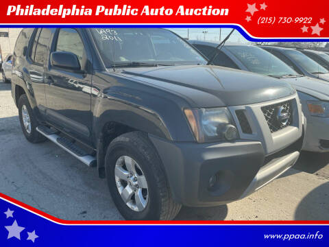 2011 Nissan Xterra for sale at Philadelphia Public Auto Auction in Philadelphia PA
