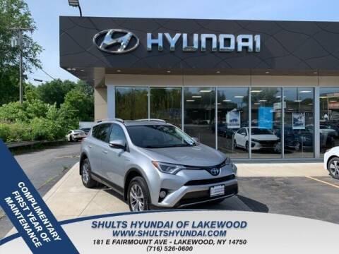 2018 Toyota RAV4 Hybrid for sale at Shults Hyundai in Lakewood NY