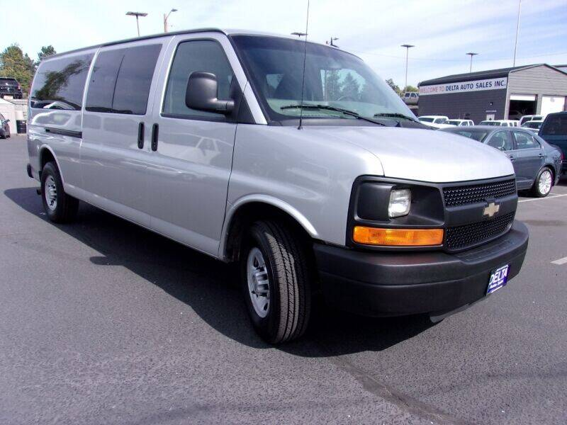 2013 Chevrolet Express Passenger for sale at Delta Auto Sales in Milwaukie OR