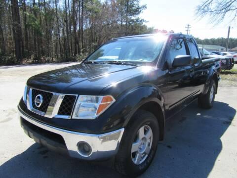 2006 Nissan Frontier for sale at Bullet Motors Charleston Area in Summerville SC