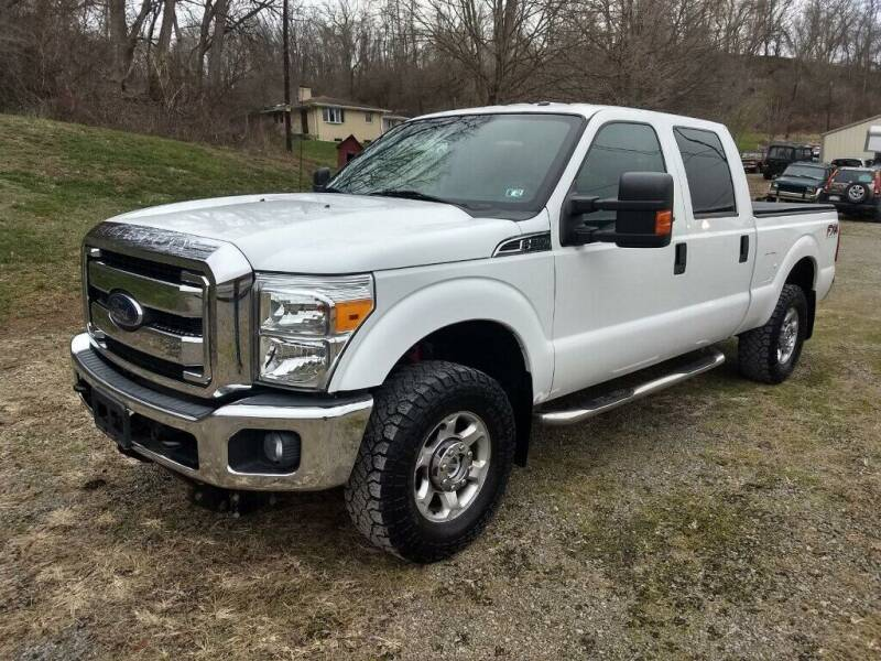 2013 Ford F-250 Super Duty for sale at Martin Auto Sales in West Alexander PA
