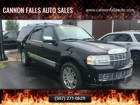 2007 Lincoln Navigator L for sale at Cannon Falls Auto Sales in Cannon Falls MN