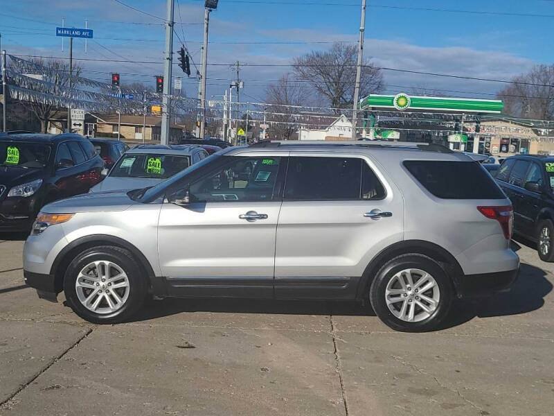 2013 Ford Explorer for sale at Bob Boruff Auto Sales in Kokomo IN