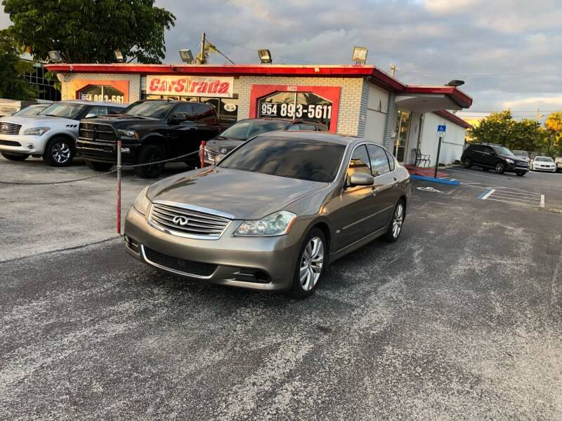 2008 Infiniti M35 for sale at CARSTRADA in Hollywood FL