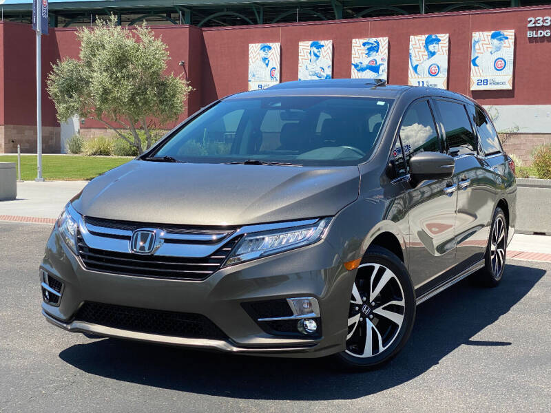 2018 Honda Odyssey for sale at AKOI Motors in Tempe AZ