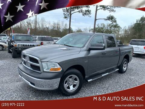 2012 RAM Ram Pickup 1500 for sale at M & D Auto Sales Inc in Foley AL