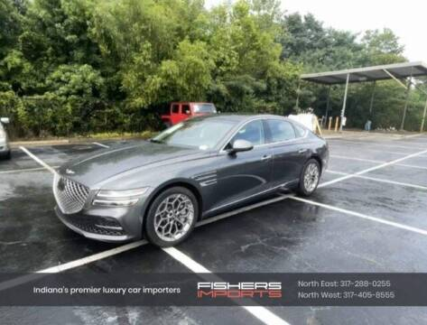 2021 Genesis G80 for sale at Fishers Imports in Fishers IN