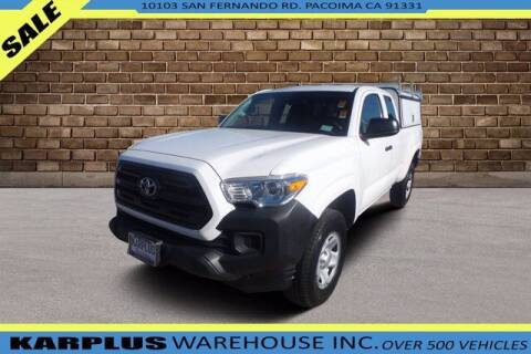 2017 Toyota Tacoma for sale at Karplus Warehouse in Pacoima CA